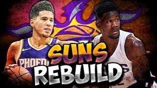 NEW SUPERSTAR DUO?! NBA 2K19 PHOENIX SUNS REBUILD!