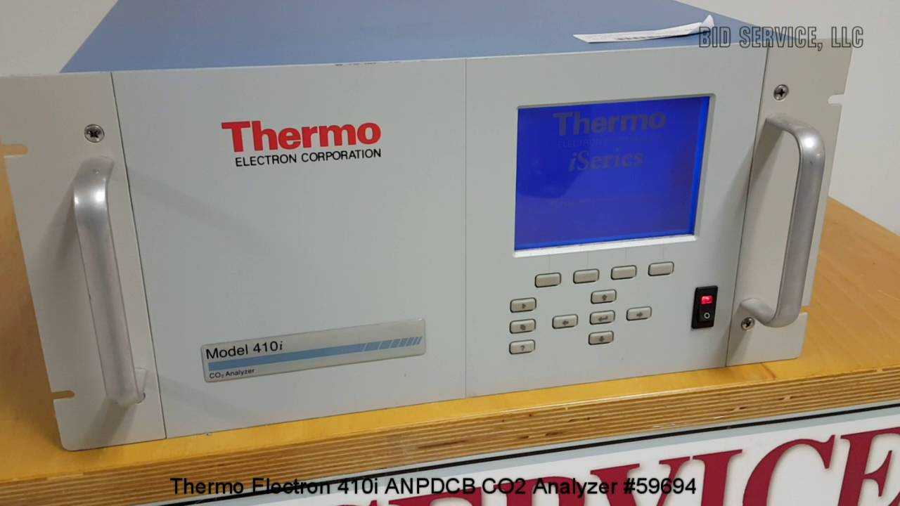 Download Drivers: Thermo Fisher 410i Analyzer