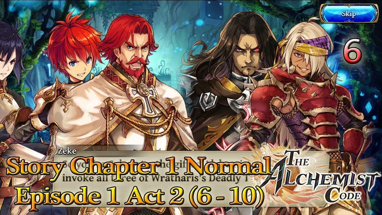 story ep act normal kebenaran semakin terungkap  story ep 1 act 2 6 10 normal kebenaran semakin terungkap the alchemist code 6