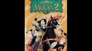 Digitized Opening to Mulan 2 (VHS UK)