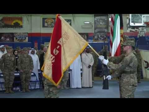 Colonel Power takes command of ASG - Kuwait