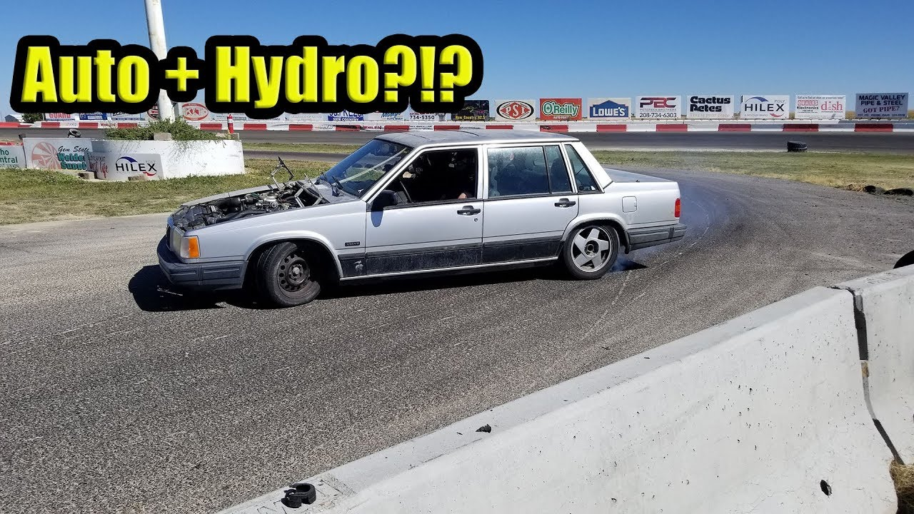 Hydro In An Automatic Drift Car Action