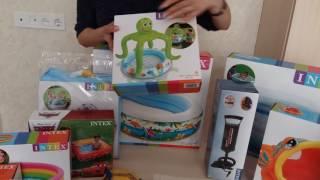 Бассейны Intex для детей и взрослых. Обзор интекс бассейнов