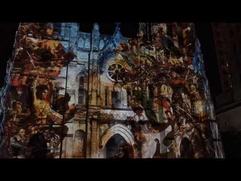 San Antonio | The Saga 4K HD (San Fernando Cathedral Light Show)
