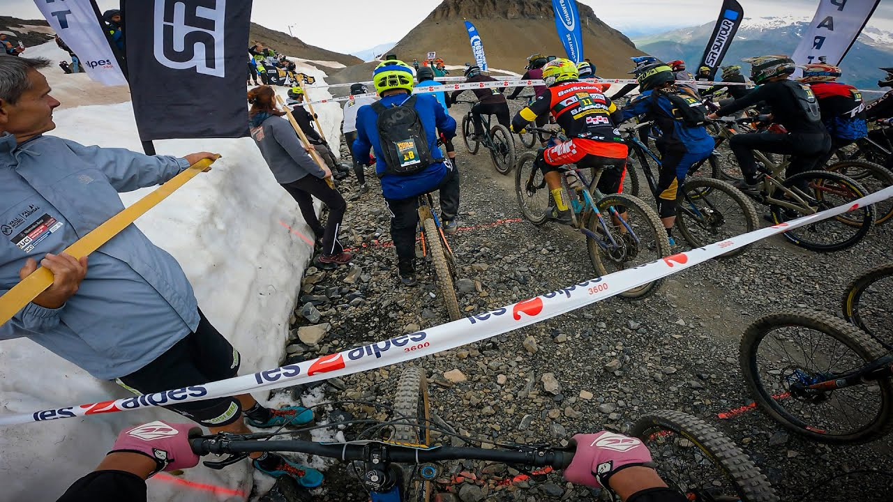 MOUNTAIN OF HELL, Qualification run, Les 2 alpes, France