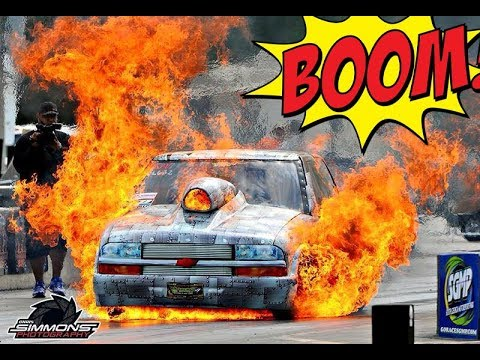Crazy Drag Racing Mishaps!