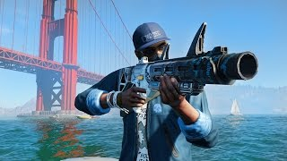 FREE ROAM!! (Watch Dogs 2 PC)