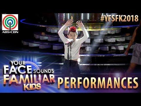 Your Face Sounds Familiar Kids 2018: Marco Masa as Ricky Martin  Livin La Vida Loca