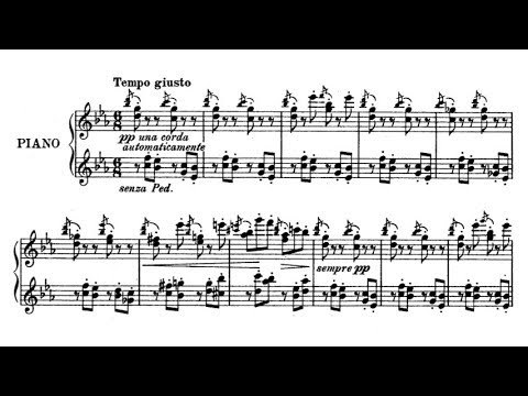 Emil von Sauer - Music Box (audio + sheet music)
