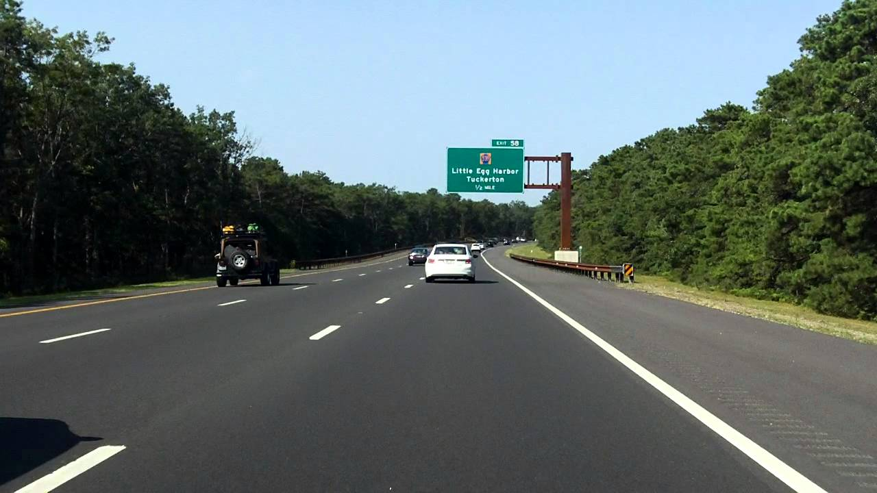 Garden State Parkway Exits 63 To 58 Southbound 2014