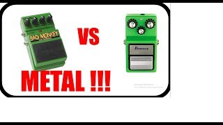 bad monkey vs ts9 metal