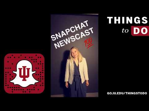 Indiana University: Things to Do at IU: 9/11/2017
