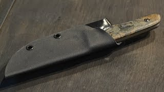 How To Make A Kydex Knife Sheath
