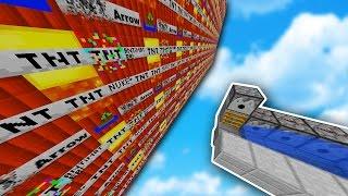 MODDED TNT WARS ... 15+ CUSTOM TNT (Minecraft Mod)