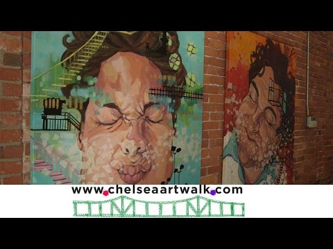 Chelsea, Massachusetts Art Walk - 2014
