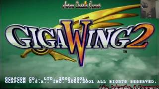 Giga Wing 2 Dreamcast Entire Game and Ghost Blade!