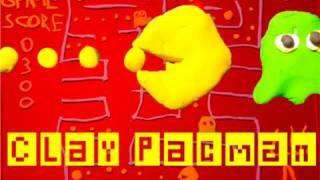 Knete Pac-Man / Clay Pac-Man