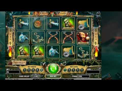 Игровой автомат пираты-призраки