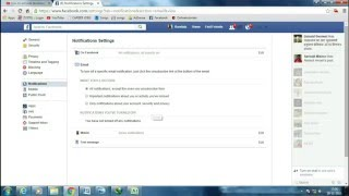 how to get sms  alerts from Facebook !! how to enable notification setting in facebook