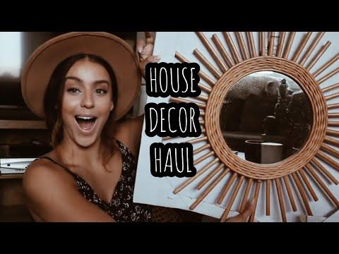 House Decor Haul    VLOG