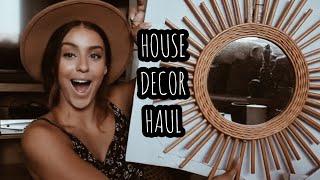 House Decor Haul || VLOG