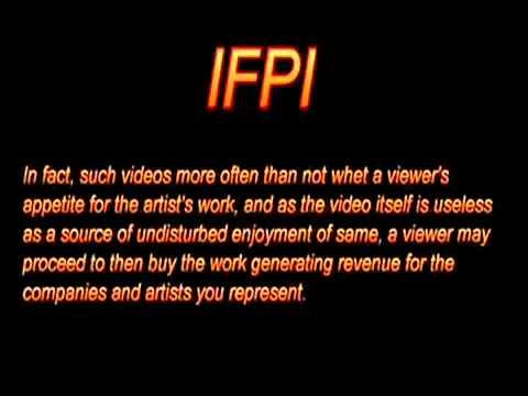 YouTube - IFPI Copyright Nazis! UPLOAD-SAFE MIRROR