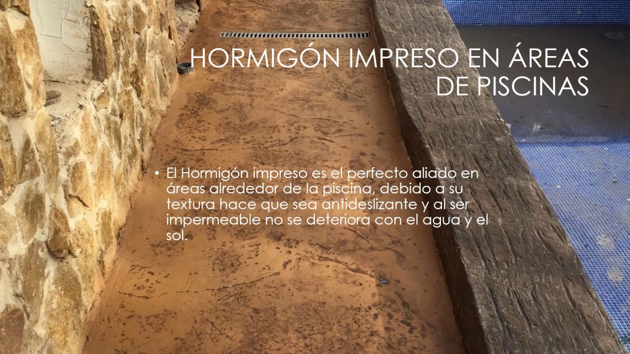 Hormig n impreso murcia pavirustico youtube for Hormigon impreso youtube