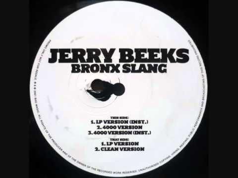 Jerry Beeks - Bronx Slang (LP Version)