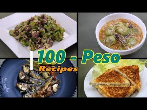 100 PESO RECIPES | Delish PH
