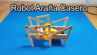 Cómo Hacer Una Araña Robot Casero, Un Robot Araña hexapodo | Robotica | Sagaz Perenne