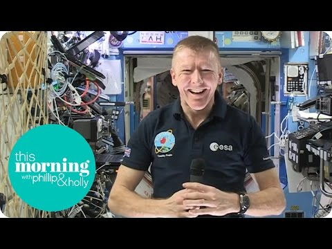 Tim Peake On Living In Space | This Morning