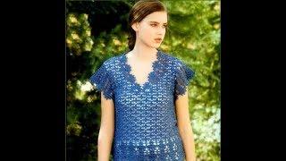 Связать Крючком Летнюю Кофточку для Женщины - образцы моделей 2019 / Crochet the Summer Blouse