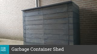 Building a Shed for Garbage Containers