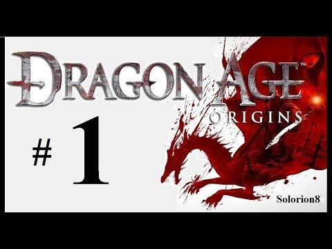 Dragon Age: Origins #1   Primeros minutos   Walkthrough   Gameplay en español, comentado