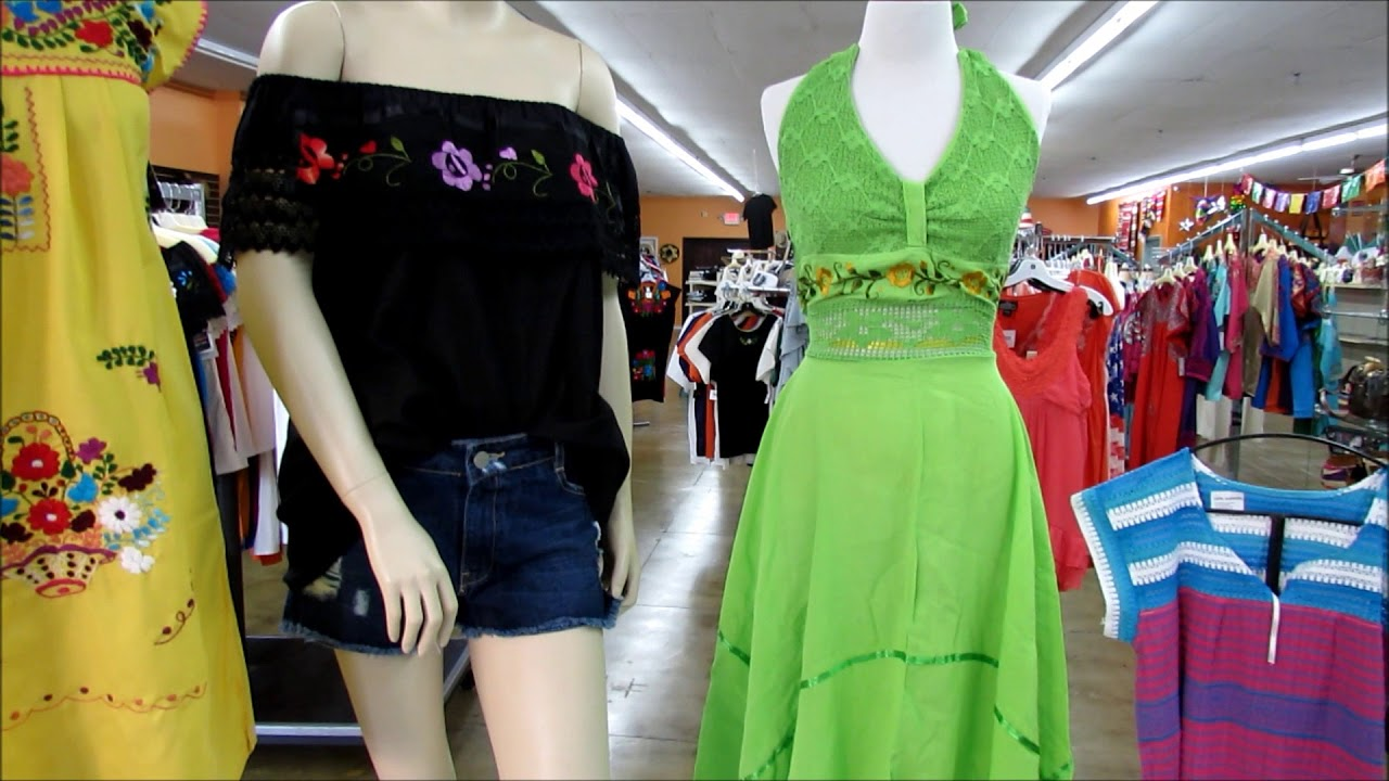 Leos Imports Mexican dresses and blouses