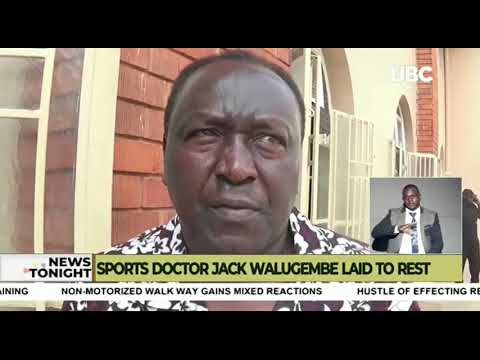 Uganda's long serving Sports Doctor Jack Walugembe laid to rest
