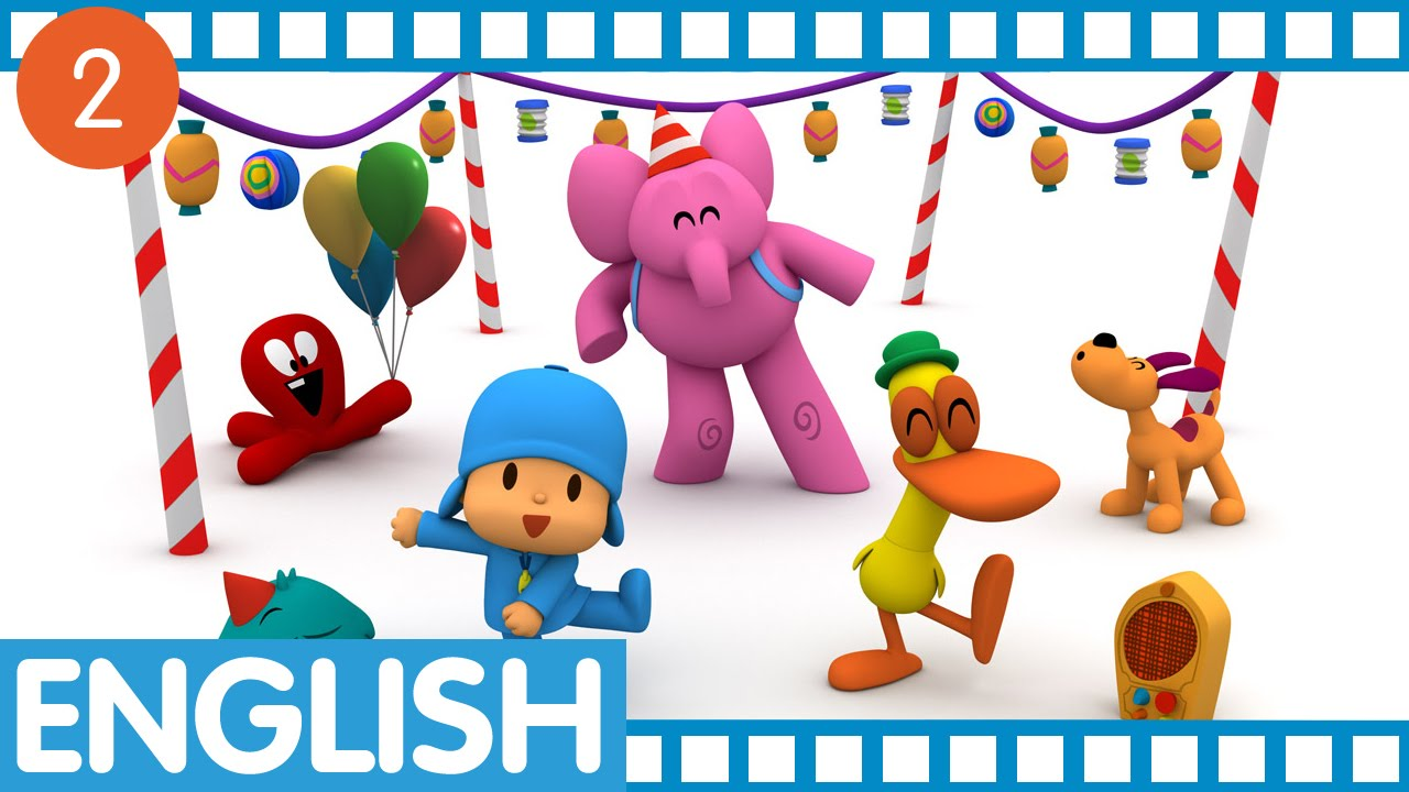 pocoyo in english session 2 ep 05 08 youtube. Black Bedroom Furniture Sets. Home Design Ideas