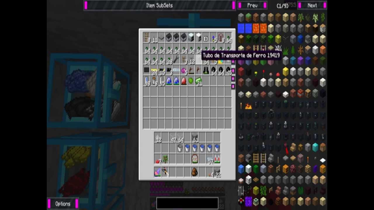 .Minecraft com 56 mods e texture packs 1.5.2 !!! - YouTube