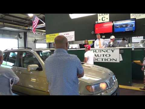 Monday is Quincy - Auto Auction
