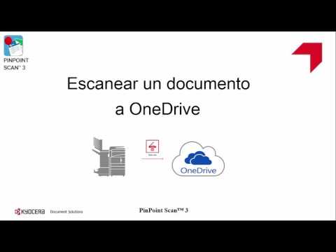 PinPoint Scan 3 0 Escaneo OneDrive - YouTube