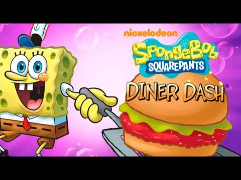 Spongebob: Diner Dash ~ Krusty Krab {NO COMMENTARY}