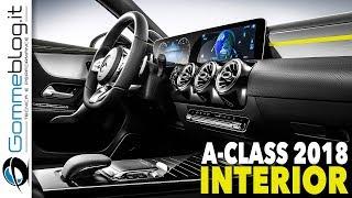 2018 New Mercedes A-Class INTERIOR