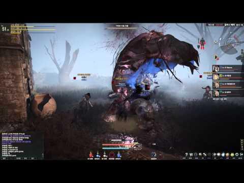 Black Desert Online 2nd CBT Mud World Boss HD
