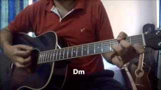 Alfazon Ki Tarah Guitar lesson | Ankit Tiwari | Rocky Handsome
