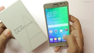 Samsung Galaxy Alpha Unboxing & Hands On Overview