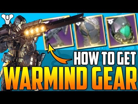 Destiny 2 - HOW TO GET ALL WARMIND EXCLUSIVE GEAR! IKELOS GEAR - (All Escalation Protocol Details)