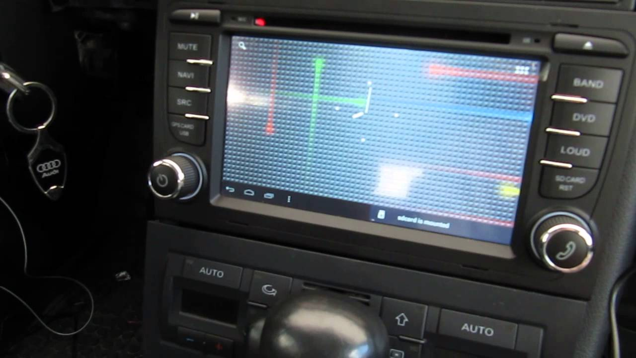 Audi a4 b7 android youtube for Mueble 2 din audi a4 b6