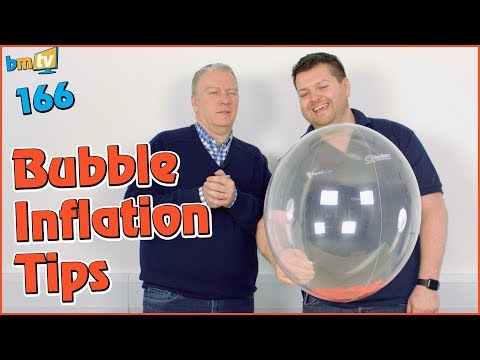 Bubble Balloon Inflation Tips: with Mark Drury from Qualatex - BMTV 166