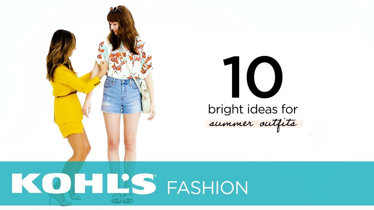 [VIDEO] - 10 Bright Ideas for Summer Outfits | The Outfit Bar at Kohl's 8