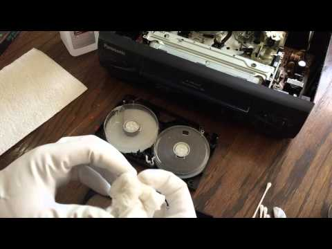 How to Clean a Moldy VHS Tape